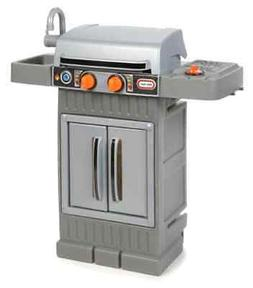 Play Toy Kitchen Bar Cooking BBQ Grill Food Chef Counter Set