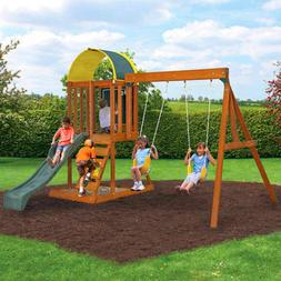 Playground Sets For Backyards Fun Outdoor With Sandbox Woode