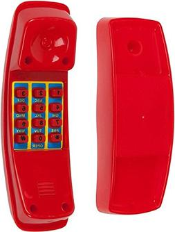 Playground Telephone, Red with SSS logo Sticker
