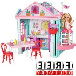 Barbie Playhouse Set Playset Furniture Fun Christmas Gift Do