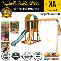 Playset Outdoor Multi Level For Kids With 6 Games Ready To A