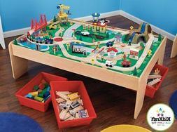 KidKraft Playset Table Train Set Waterfall Mountain Wooden T