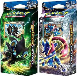 Pokemon XY XY9 Breakpoint Decks Greninja & Luxray Theme Card