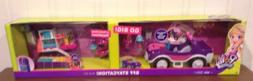 Polly Pocket BFF Staycation Big Play Set 2 Sets In 1 SUV & H