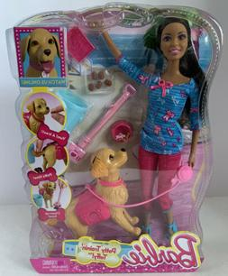 Barbie Potty Training Taffy Nikki Fashion Doll and Pet Plays