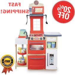 Little Tikes Premium Cook & Store Kitchen Pretend Playset 32