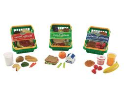 pretend and play healthy foods play set
