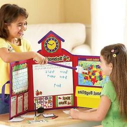 Learning Resources Pretend & Play School Set Dry-Erase Board