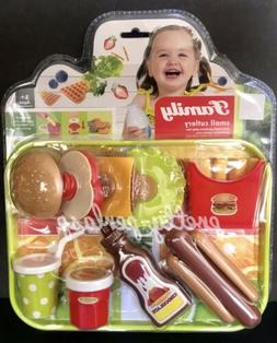 Pretend Fast food Toy Play Hamburger Fries Shop Kids Store G