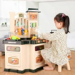 Pretend Playset Toy Kitchen Play Set Baker Kids Cooking Girl