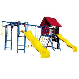 Primary Colors Weather Resistant Powder Coated Steel Double