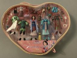Disney Princess Polly Pocket Mulan Figure Fashion Play Set I