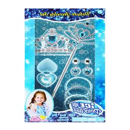 Princess Pretend Jewelry Dress Up Play Set Costume Toy for G