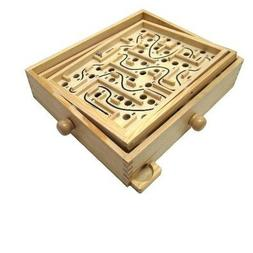 Puzzle Wooden Labyrinth Wooden Game Children Educational Kid