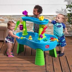 Rain Showers Splash Pond Water Table Play Set Outdoor Toddle