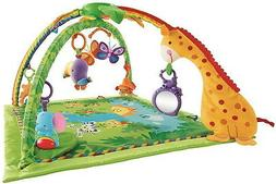 Fisher-Price Rainforest Melodies and Lights Deluxe Gym baby
