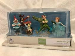 Rare! Disney Figure Play Set Peter Pan 6 Piece Figurine Cake