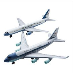 RealToy 2 plane set Air Force One Airplane 747 Air Force Two