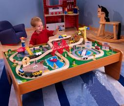 Kidkraft Ride Around Town 100pc Train Set & Table