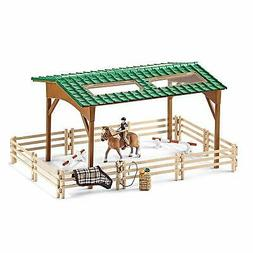 RIDING ARENA PLAY SET by Schleich/ toy/ horse/ 42189/ RETIRE