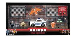 Roblox Most Wanted Play Set w/ Includes 2 Exclusive Virtual
