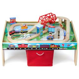 Ryan's World 50-Piece Planes, Trains & Auto Play Table Set