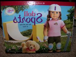 American Girls Doll Sports Book & Activity Play Set