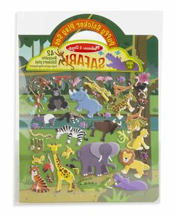 Melissa & Doug SAFARI Puffy Sticker Play Set 42 Reusable Sti