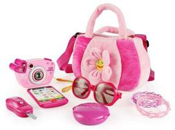 SainSmart Jr. Toddler Purse My First with Pretend Play Set f