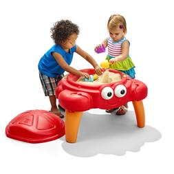 Sand Table Sandbox Kids Toddler Play Set with Toy Outdoor Bo