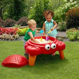 Sandbox Crab Sand Table Outdoor Activity Toy Play Set With L