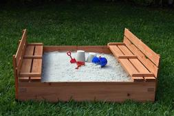 Sandbox For Kids Outdoor Toys Child Playset Backyard Yard Wo
