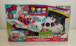 Sanrio Hello Kitty Airplane/Airline Playset by Jada Toys, Ne