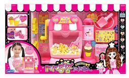 Sarah`s popcorn shop making popcorn and icecream, Toy popcor