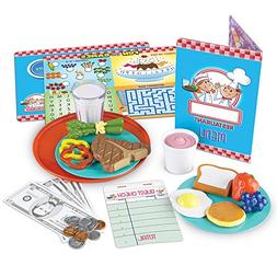 Learning Resources Serve It Up! Play Restaurant, 36 Pieces