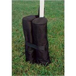 Set Dual Cylinder Wrap Around Bags, Black