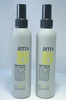 SET of 2 KMS HAIR PLAY Sea Salt Spray 6.8 fl oz. **BRAND NEW