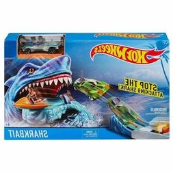 Hot Wheels Sharkbait Play Car and Track Set Age 4+ Boys Gift