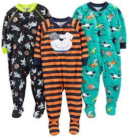 Simple Joys by Carter's Baby Boys' 3-Pack Loose Fit, Light W