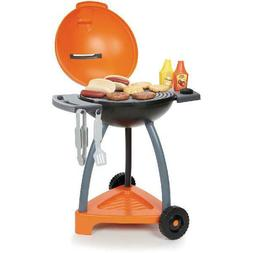Sizzle and Serve Toy Grill Play Set Kitchen Pretend Kids Foo
