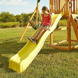 Slide Wave Kids Backyard Playset Garden Playground Equipment