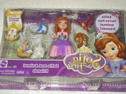 SOFIA LOVES HER ANIMAL FRIENDS SOFIA THE FIRST RESPECT NATUR
