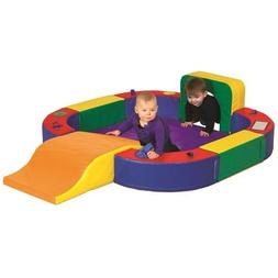 ECR4Kids SoftZone Discovery Center with Tunnel and Slide Pla