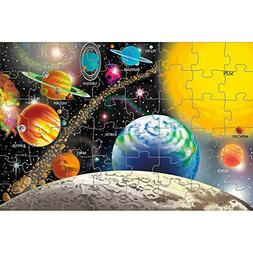 Melissa & Doug 6 Pack Solar System Floor Puzzle