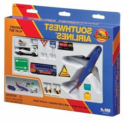 SOUTHWEST 13Pc. AIRPORT PLAY SET - NEW - CHRISTMAS GIFT - DI