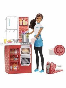 Barbie Spaghetti Chef African-American Doll & Playset