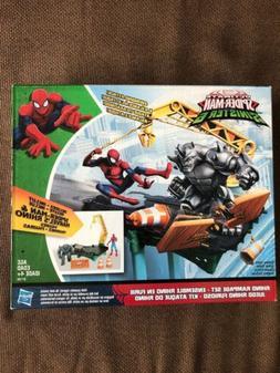 Marvel Spider-Man Rhino Rampage Play Set NEW