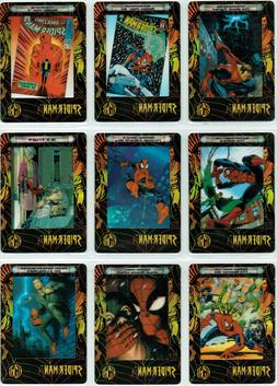 SPIDERMAN CELL CARD PH1 TO PH9   SET OR SINGLES CHOOSE BY AR