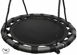 Sorbus Spinner Swing – Kids Indoor/Outdoor Round Mat Swing