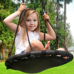 Sorbus Spinner Swing – Kids Indoor/Outdoor Round Mat Swing